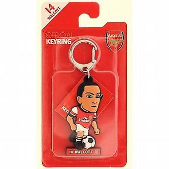 Arsenal Officially Licensed Soccer Buddies Football Keyring - Theo Walcott