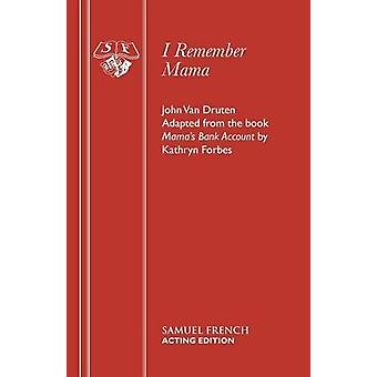 I Remember Mama - Play by I Remember Mama - Play - 9780573011979 Book