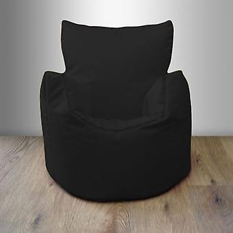 Toddler Water Resistant Bean Bag Chair - Black