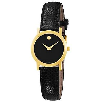 Movado Museum Leather Ladies Watch 0606088