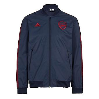 2019-2020 Arsenal Adidas Anthem jas (Navy)-kinderen