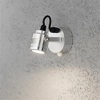 KONSTSMIDE 7941 moderno Monza Motion Sensing 3 LED Light Outdoor Wall