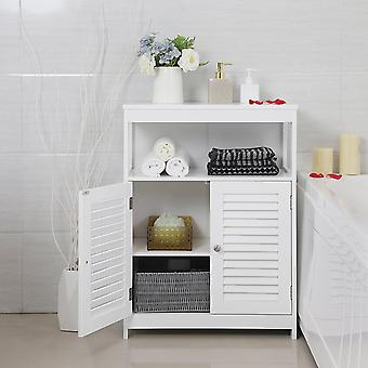 Bathroom cabinet with 2 doors and open box