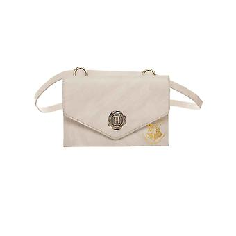 Carta da bolsa de Harry Potter do selo de Hogwarts envelope novo branco oficial