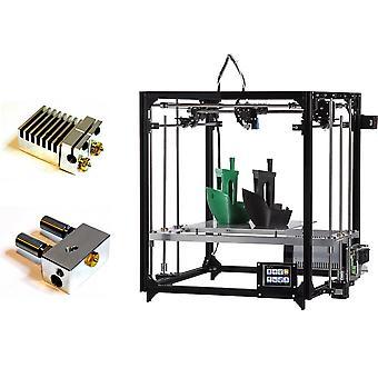 Flsun f3 diy impresora 3d 260 * 260 * 350mm tamaño de impresión