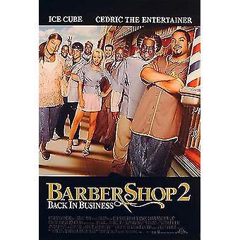 Barbershop 2 (yksipuolinen tavallinen) alkuperäinen elokuva juliste