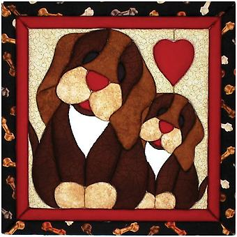 Puppy Love Quilt Magic Kit 12
