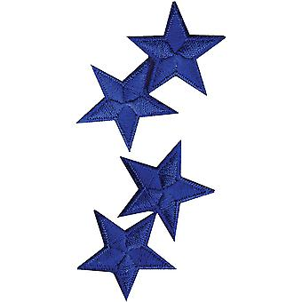 Wrights Iron On Appliques Royal Stars 1 1 4