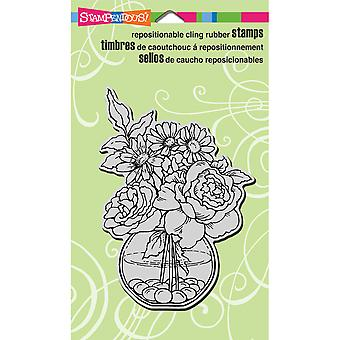 Stampendous Cling Rubber Stamp 4