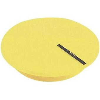 Cover + hand Yellow, Black Suitable for K12 rotary knob Cliff