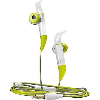 Sports Headphone Trust Fit In-ear Headset Green