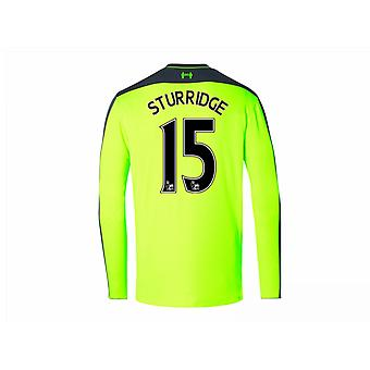 2016-17 Liverpool Third Long Sleeve Shirt (Sturridge 15)