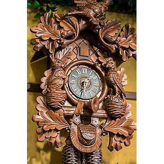 Cuckoo Clock Rothenburg Germany Poster Print by Jim Engelbrecht