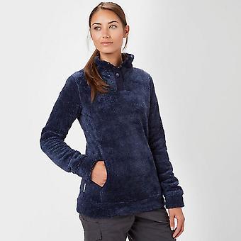 Navy Peter Storm Women's Misty Button Fleece