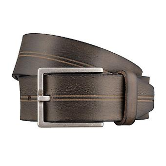 BRAX belts men's belts leather belt grey 3047