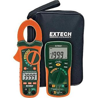 Current clamp, Handheld multimeter digital Extech ETK35 Calibrated to: Manufacturer standards Display (counts): 2000
