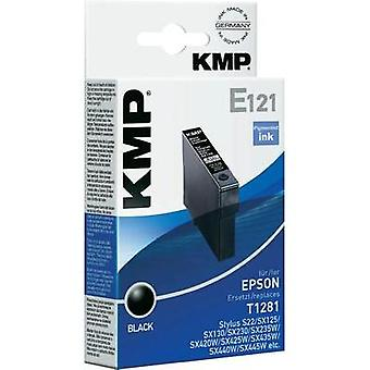 KMP Ink replaced Epson T1281 Compatible Black E121 1616,0001