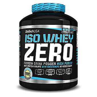 BiotechUSA Isowhey Zero Lactose Free Chocolate Flavor 2270 gr (Sport , Proteins)