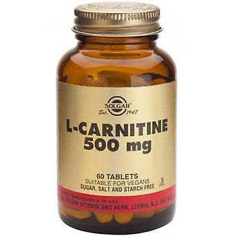 Solgar L-Carnitine 500 mg Tablets (Diet , Supplements)