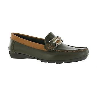 Riva Womens Wigeon Moccasins Shoes Leather Man Made Female Ladies Footwear