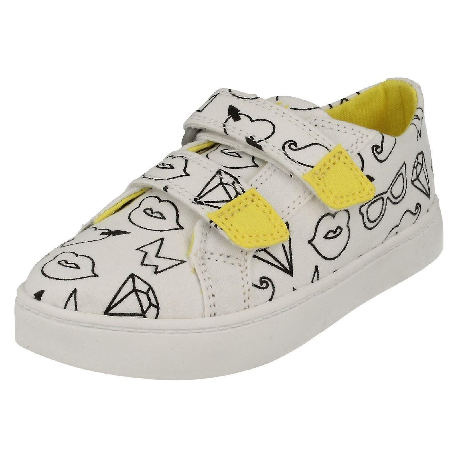c162b56be6922e Mädchen-Clarks Leinwand Schuhe Pattie Sue - 26f1ee - schlemme-zahntechnik.de
