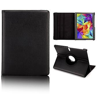 Cover 360 Degree Black Case for Samsung Galaxy Tab 10.5 S T800