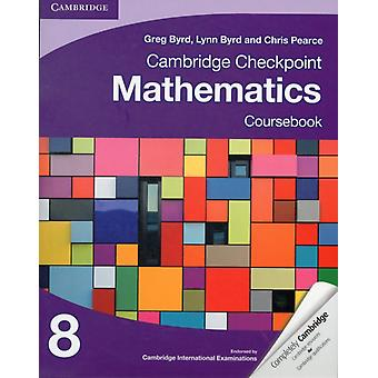 Cambridge Checkpoint Mathematics Coursebook 8 (Unlock) (Paperback) by Byrd Greg Byrd Lynn Pearce Chris