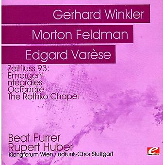 Gerhard Winkler/Morton Feldman/Edgard Varese - Zeitfluss 93: Gerhard Winkler; Morton Feldman, Edgard Var SE [CD] USA import
