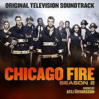Atle Orvarsson - Chicago Fire sæson 2 / TV O.S.T. [CD] USA import