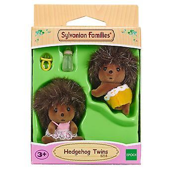 Sylvanian Familie Igel Zwillinge Puppe