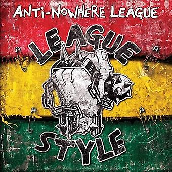 Anti-Nowhere League - League stijl [Vinyl] USA import