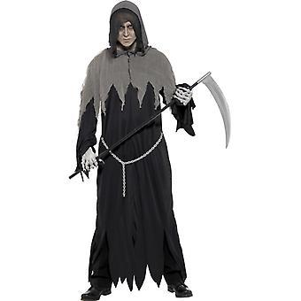 Liemannen kostym mäns Tod Liemannen Halloween