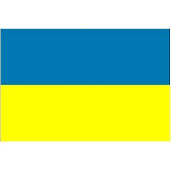 Ukraine Flag 5ft x 3ft (100% Polyester) With Eyelets For Hanging