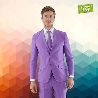Purple Heart Purple Mister Purple suit 3-piece costume deluxe EU SIZES