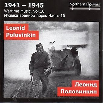 St.Petersburg State Academic Symfoniorkester - krigstid musik 16 L. a. Polovinkin [CD] USA importerer