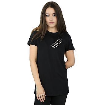 Supernatural Women's Symbol Scratch Boyfriend Fit T-Shirt