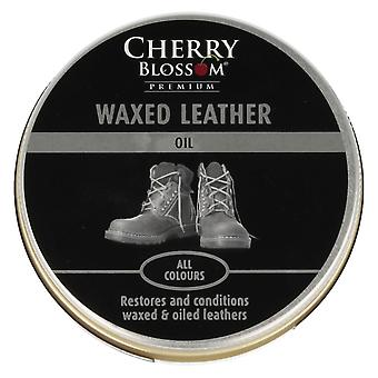 Cherry Blossom Waxed Leather Oil