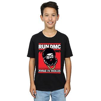 Køre DMC drenge Santa jul T-Shirt
