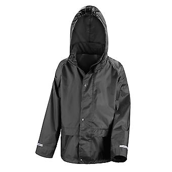Result Childrens/Kids Core Junior Stormdri Rain Over Jacket