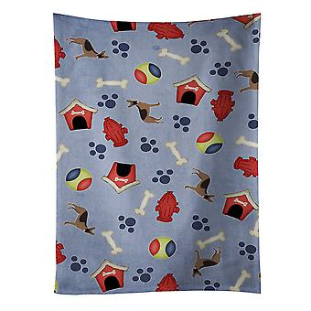 Dog House Collection German Shepherd Kitchen Towel