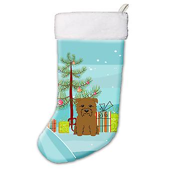 Albero di Natale allegro Glen di Imal Tan calza di Natale