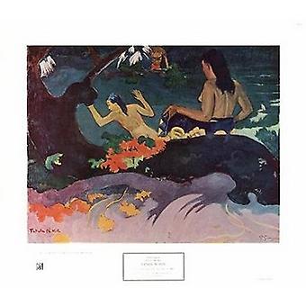 Fatata Te Miti Poster Print by Paul Gauguin (29 x 23)