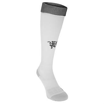 2016-2017 Man Utd Adidas Third Socks (White)