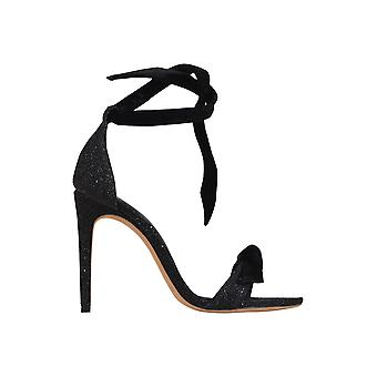 Alexandre Birman B001458177002401458177294 ladies black leather sandals