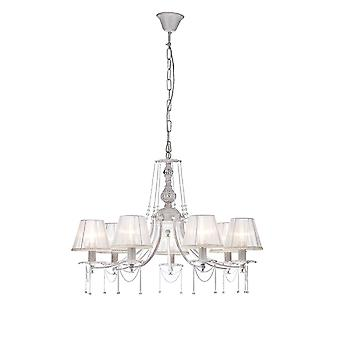 Maytoni Lighting Lolita Elegant Collection Chandelier, Cream Gold