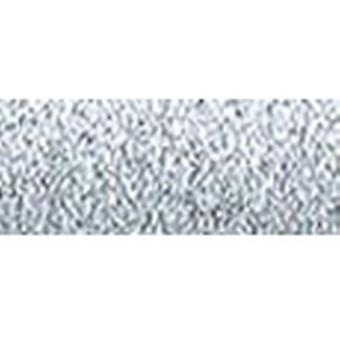 Kreinik Metallic Tapestry Braid #12 10 Meters 11 Yards Silver T 001