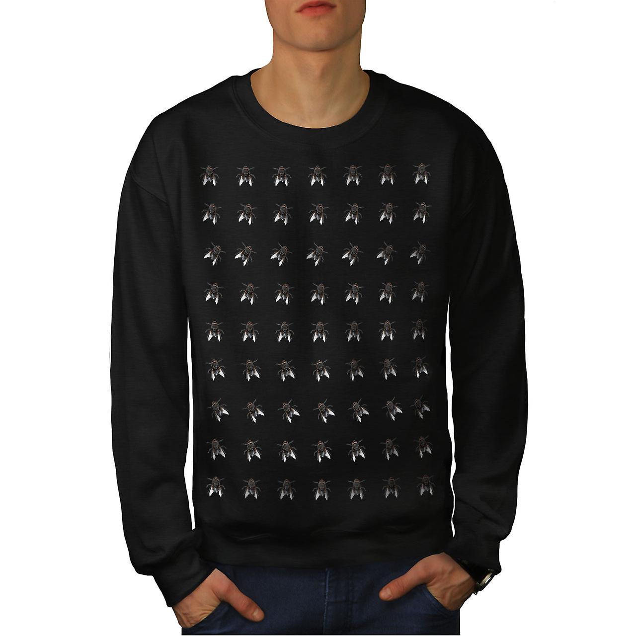 Modèle Fly Bug Animal hommes noirSweatshirt