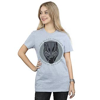 Wonder Women's Black Panther in Wakanda Boyfriend Fit T-Shirt gemaakt