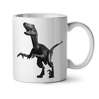 Dinosaurier Rex Tier neue Weißer Tee Kaffee Keramik Becher 11 oz | Wellcoda