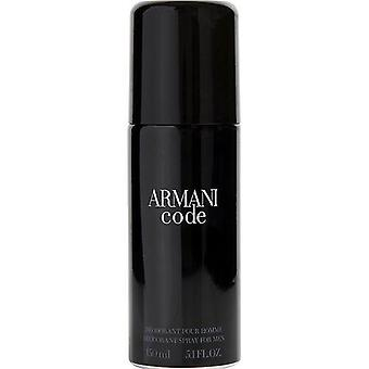 Armani Code By Giorgio Armani Deodorant Spray 5.1 Oz